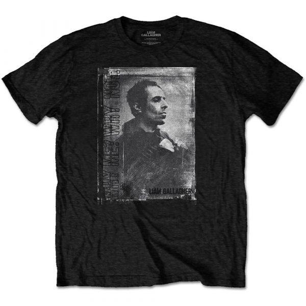 Liam Gallagher Mens T-Shirt: Monochrome (XX-Large)
