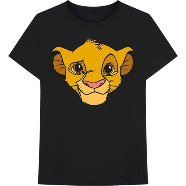Disney Mens T-Shirt: Lion King - Simba Face (XX-Large)