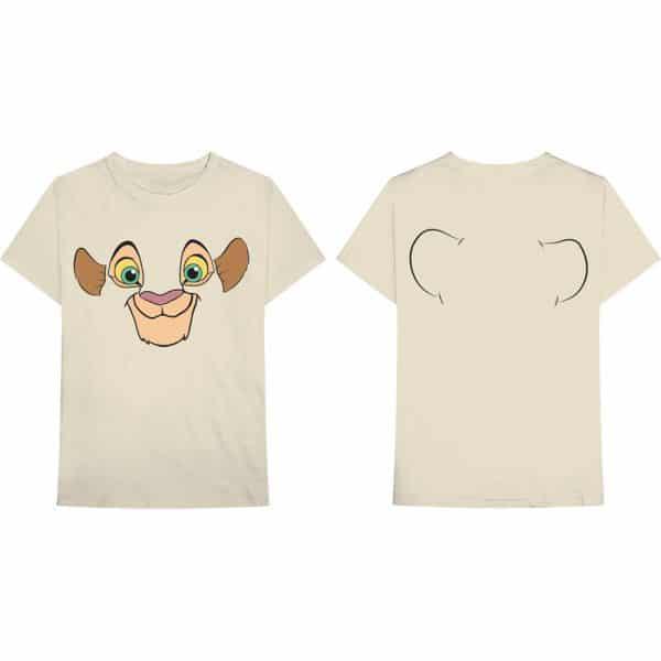 Disney Mens T-Shirt: Nala (Back Print) (XX-Large)