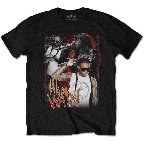 Lil Wayne Mens T-Shirt: 90s Homage (XX-Large)