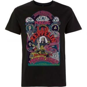 Led Zeppelin Mens T-Shirt: Full Colour Electric Magic (XX-Large)