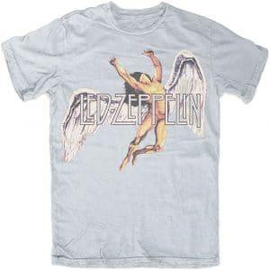 Led Zeppelin Mens T-Shirt: Large Icarus (XX-Large)