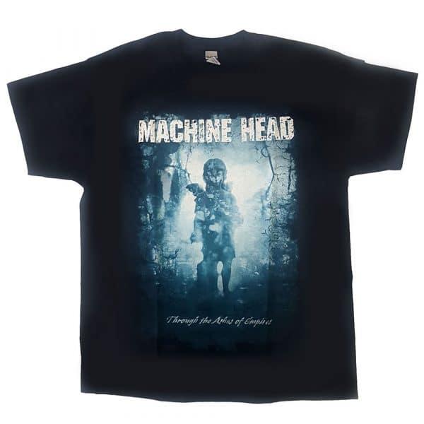 Machine Head Mens T-Shirt: Through The Ashes of Empires (Sleeve Print) (XX-Large)