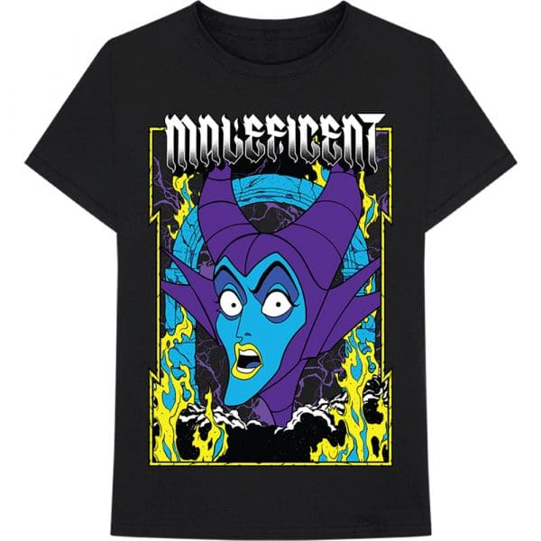 Disney Mens T-Shirt: Maleficent Villain (XX-Large)