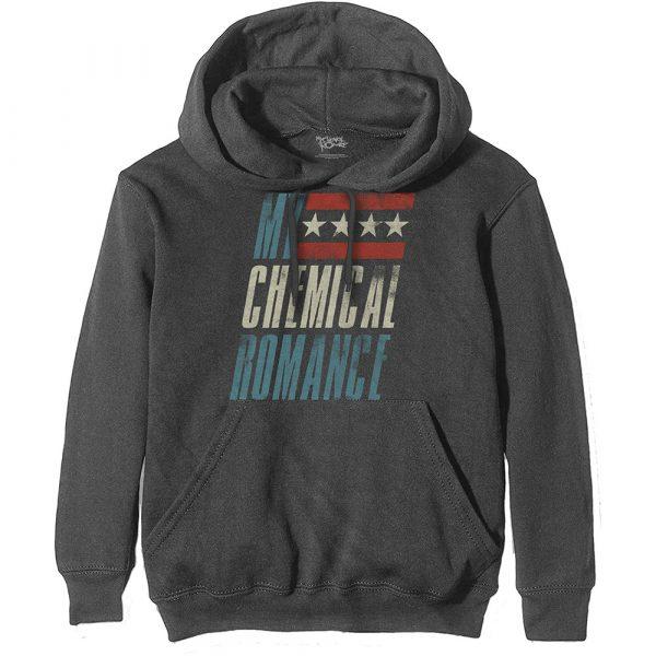 My Chemical Romance Mens Hoodie: Raceway (XX-Large)