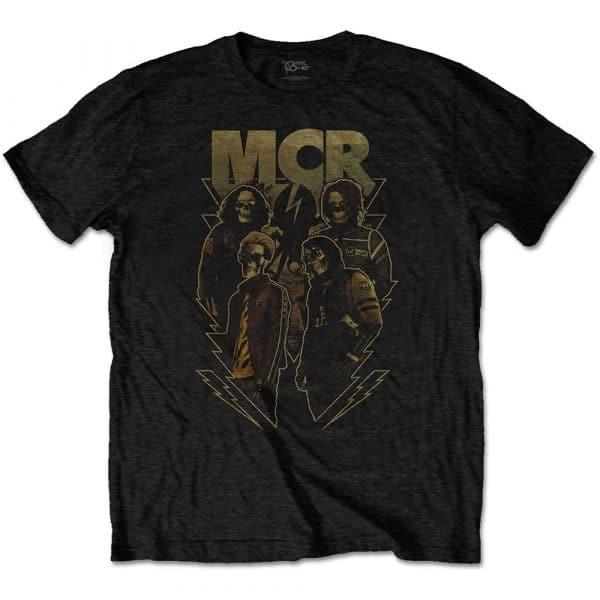 My Chemical Romance Mens T-Shirt: Appetite For Danger (XX-Large)
