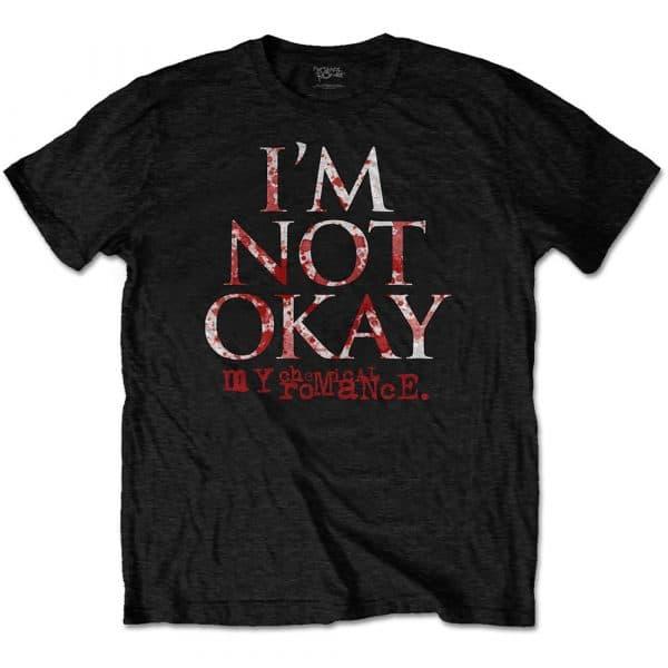 My Chemical Romance Mens T-Shirt: I'm Not Okay (XX-Large)