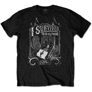 My Chemical Romance Mens T-Shirt: I Survived (XX-Large)