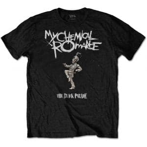 My Chemical Romance Mens T-Shirt: The Black Parade Cover (XX-Large)