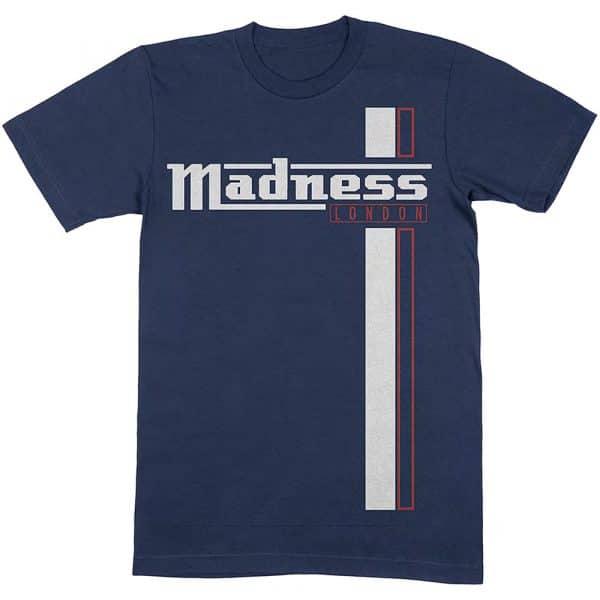 Madness Mens T-Shirt: Stripes (XX-Large)