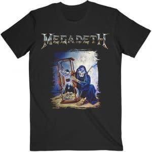 Megadeth Mens T-Shirt: Countdown Hourglass (XX-Large)