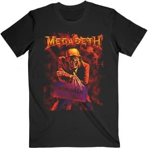 Megadeth Mens T-Shirt: Peace Sells (XX-Large)