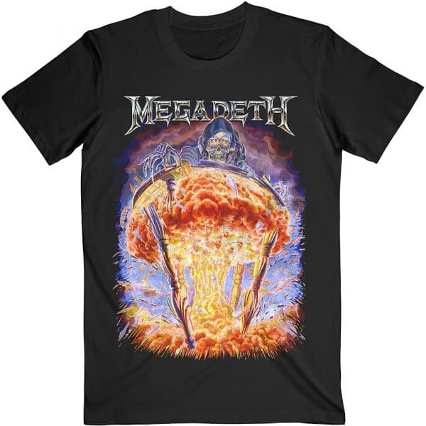 Megadeth Mens T-Shirt: Countdown to Extinction (XX-Large)