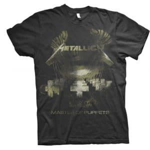 Metallica Mens T-Shirt: Master of Puppets Distressed (XX-Large)
