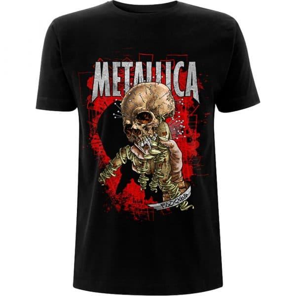 Metallica Mens T-Shirt: Fixxxer Redux (XX-Large)