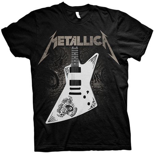Metallica Mens T-Shirt: Papa Het Guitar (XX-Large)