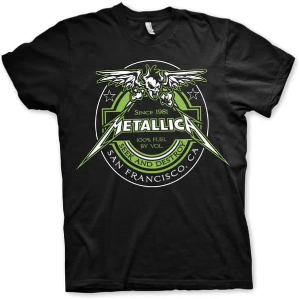 Metallica Mens T-Shirt: Fuel (XX-Large)