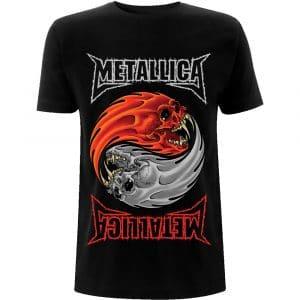 Metallica Mens T-Shirt: Yin Yang (XX-Large)