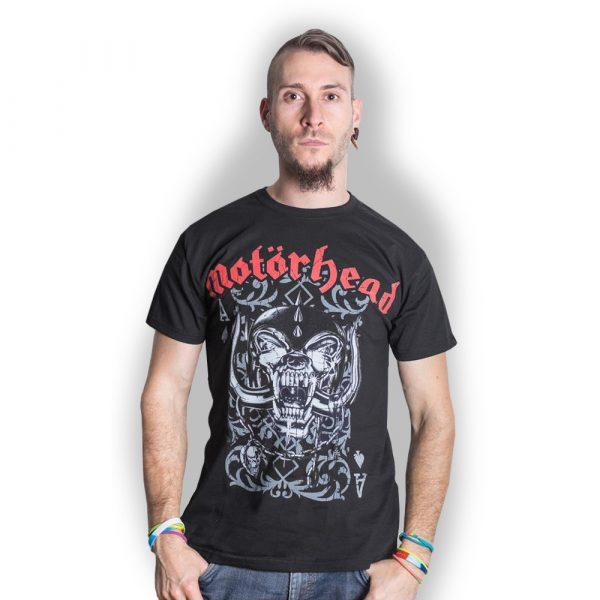 Motorhead Mens T-Shirt: Playing Card (XX-Large)
