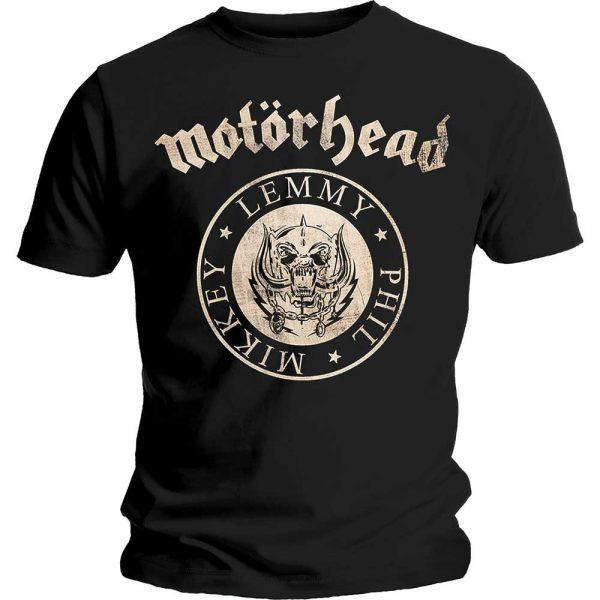 Motorhead Mens T-Shirt: Undercover Seal Newsprint (XX-Large)