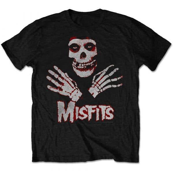 Misfits Mens T-Shirt: Hands (Retail Pack) (XX-Large)