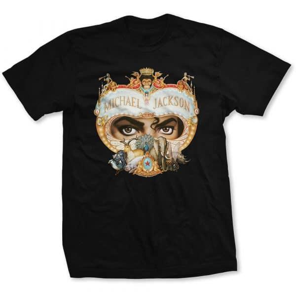 Michael Jackson Mens T-Shirt: Dangerous (XX-Large)