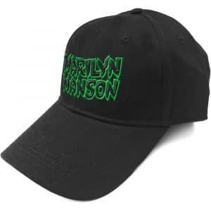 Marilyn Manson Baseball Cap: Logo