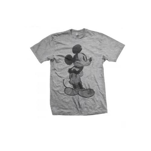 Disney Mens T-Shirt: Mickey Mouse Sketch (XX-Large)