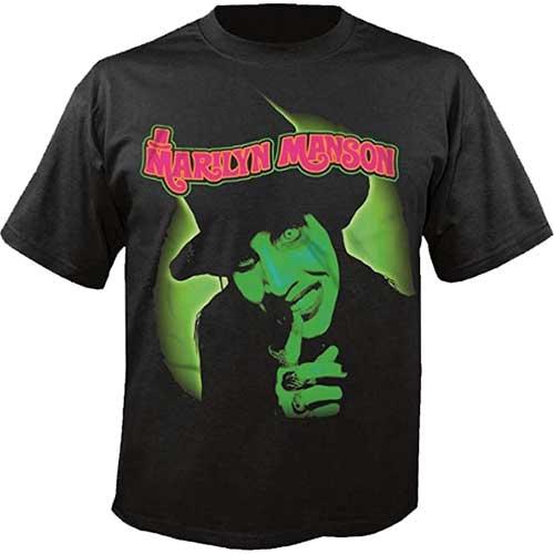 Marilyn Manson Mens T-Shirt: Smells Like Children (XX-Large)