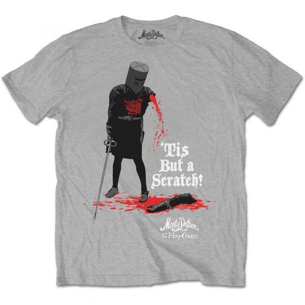 Monty Python Mens T-Shirt: Tis But A Scratch