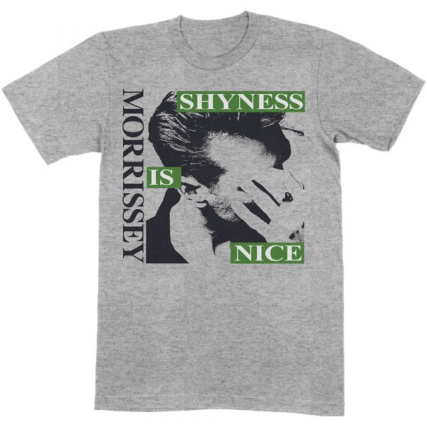 Morrissey Mens T-Shirt: Shyness Is Nice (XX-Large)