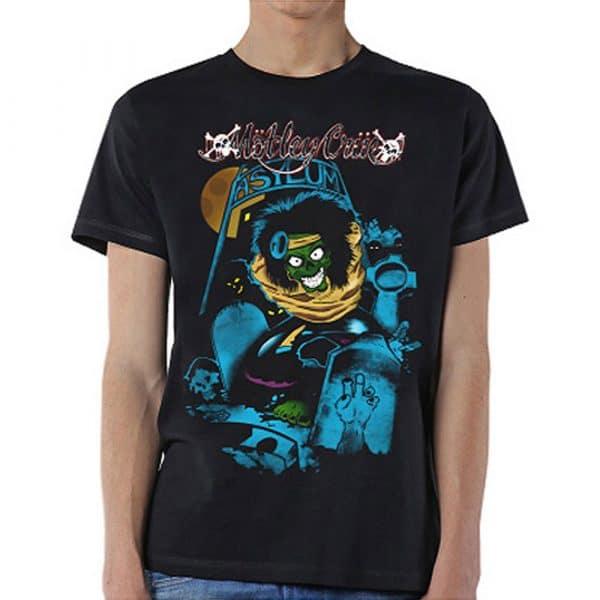 Motley Crue Mens T-Shirt: Feelgood Graveyard Vintage (XX-Large)