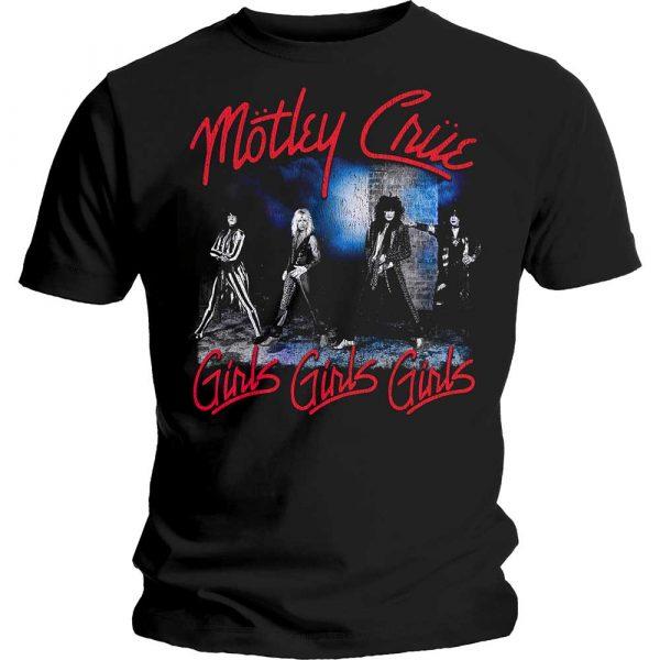 Motley Crue Mens T-Shirt: Smokey Street (XX-Large)