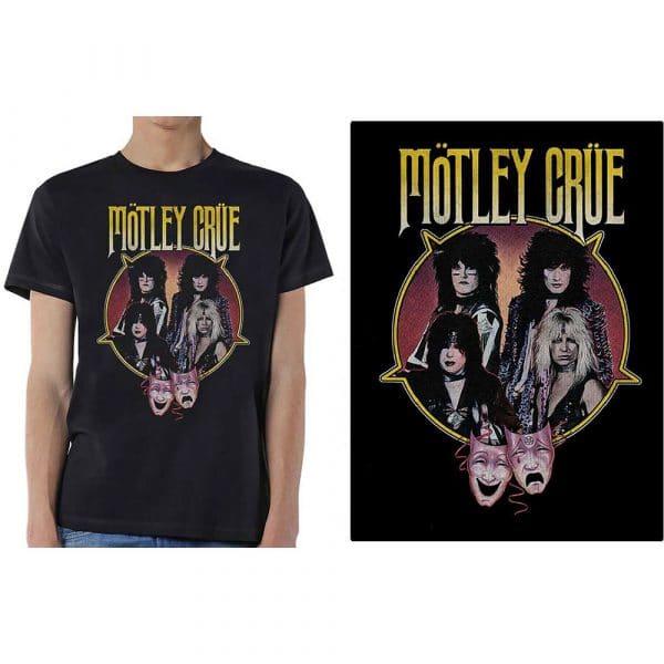 Motley Crue Mens T-Shirt: Theatre Pentagram (XX-Large)