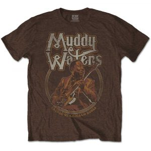 Muddy Waters Mens T-Shirt: Father of Chicago Blues (XX-Large)