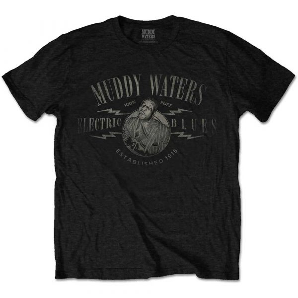 Muddy Waters Mens T-Shirt: Electric Blues Vintage (XX-Large)