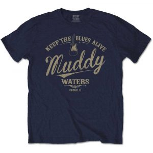 Muddy Waters Mens T-Shirt: Keep The Blues Alive (XX-Large)
