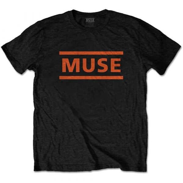 Muse Mens T-Shirt: Orange Logo (XX-Large)