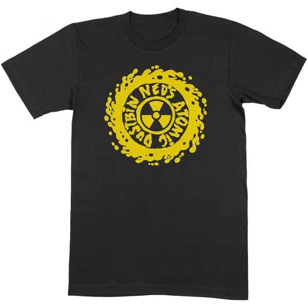 Ned's Atomic Dustbin Mens T-Shirt: Yellow Classic Logo (XX-Large)