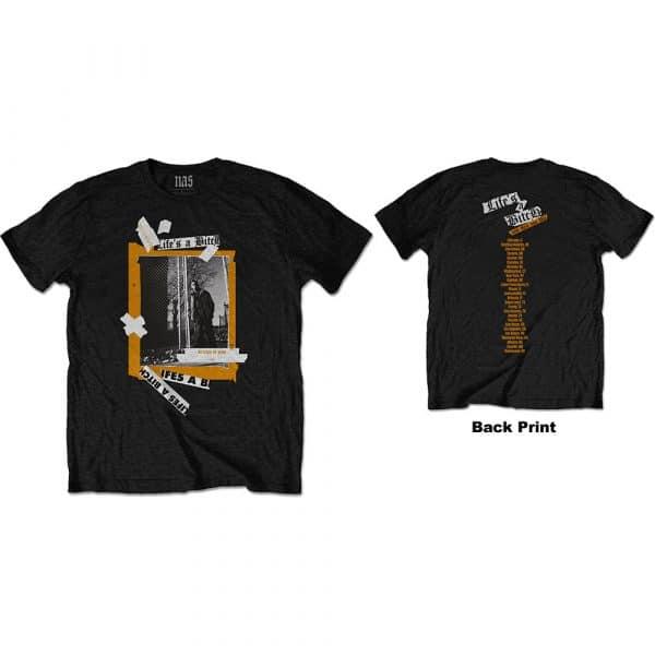 Nas Mens T-Shirt: Life's a Bitch (Back Print) (XX-Large)