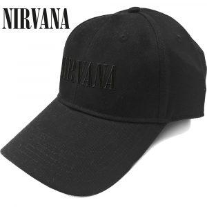 Nirvana Baseball Cap: Text Logo