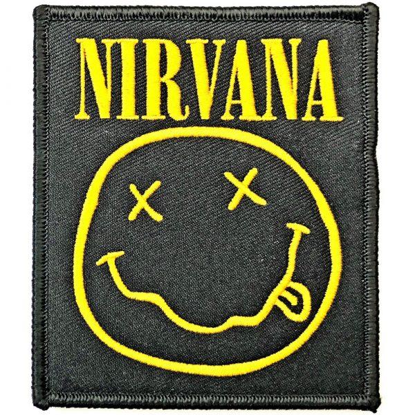 Nirvana Standard Patch: Smiley