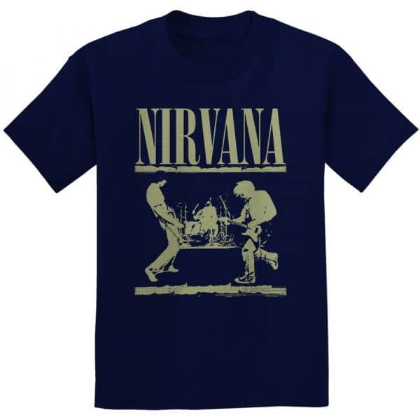 Nirvana Mens T-Shirt: Stage (XX-Large)