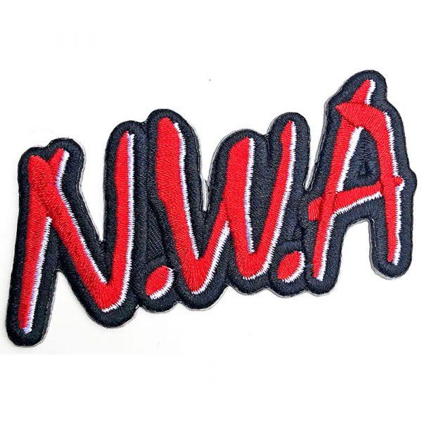 N.W.A Standard Patch: Cut-Out Logo