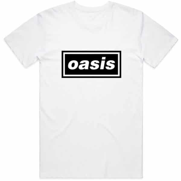 Oasis Mens T-Shirt: Decca Logo (XX-Large)