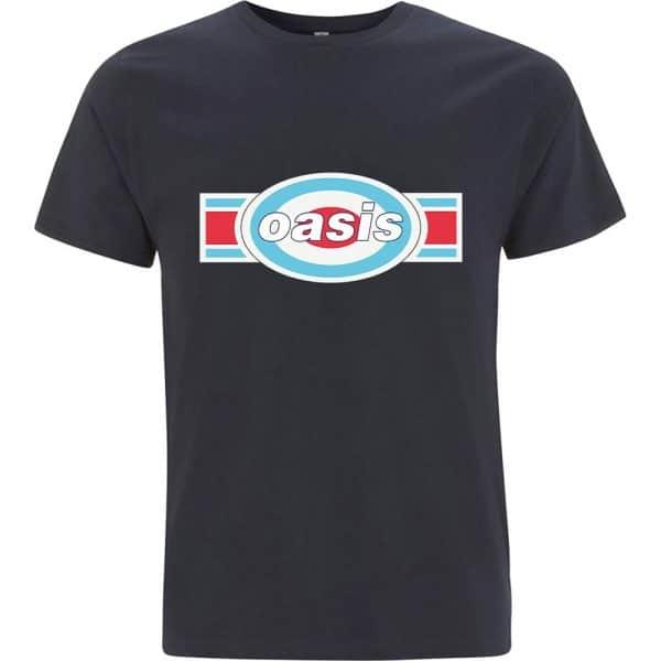 Oasis Mens T-Shirt: Oblong Target (XX-Large)