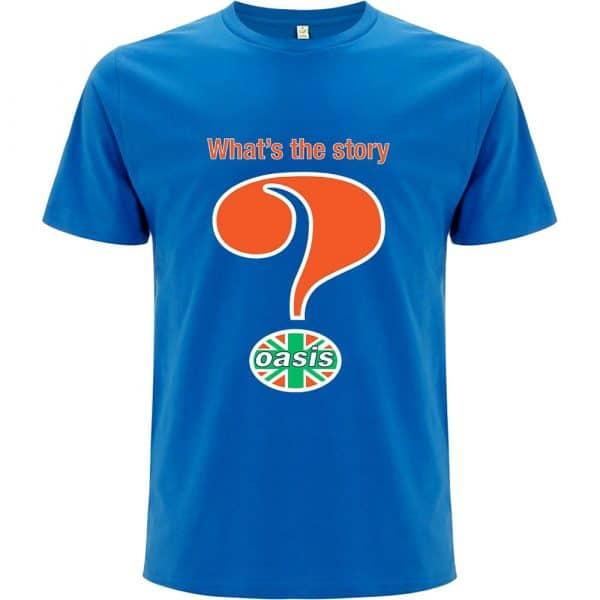Oasis Mens T-Shirt: Question Mark (XX-Large)
