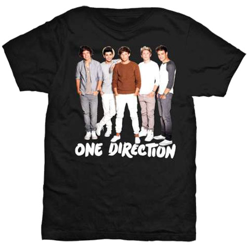 One Direction Ladies T-Shirt: New Standing (Skinny Fit) (X-Large)
