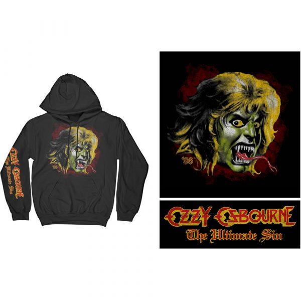 Ozzy Osbourne Mens Pullover Hoodie: Ozzy Demon (XX-Large)