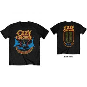 Ozzy Osbourne Mens T-Shirt: Bat Circle (LIMITED EDITION - COLLECTORS ITEM) (XX-Large)